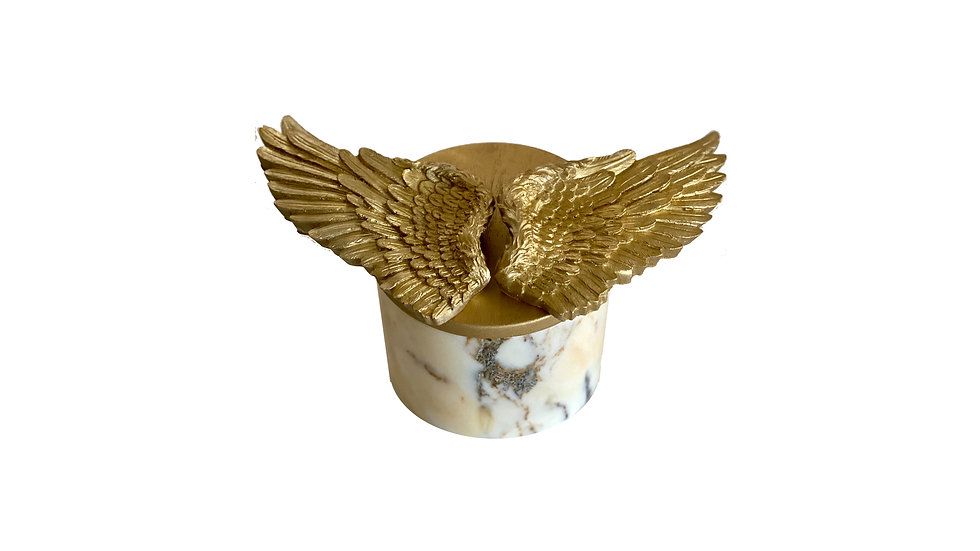 Pure Marble Series Aromatic Candle Gold