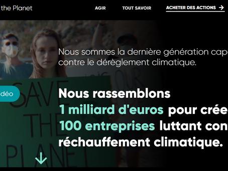 Ecoway Partners agit contre le dérèglement climatique en devenant actionnaire de Time For The Planet