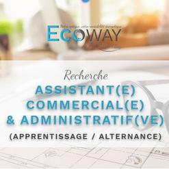 Assistant commercial et administratif en alternance
