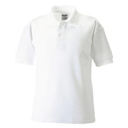 Oakhill School Polo Shirt White
