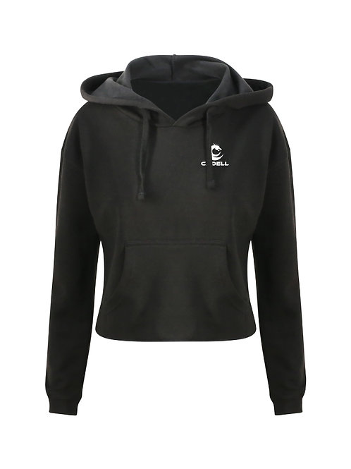 Pullover Cropped Hoodie