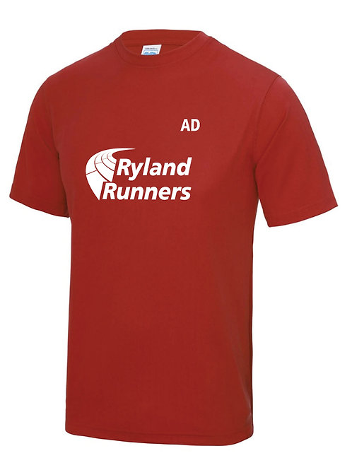Ryland Runners T shirts Front Men