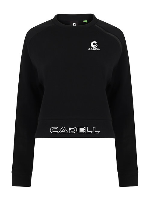 Agile Cropped Sweat