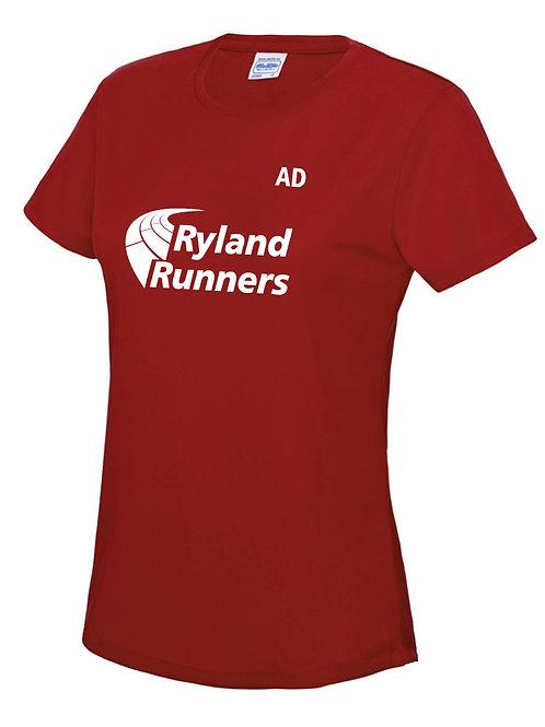 Ryland Runners T shirts Ladies