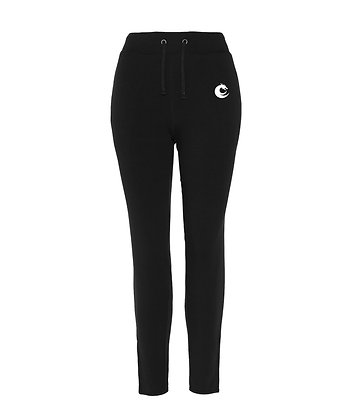 Women's tapered Zipped Joggers