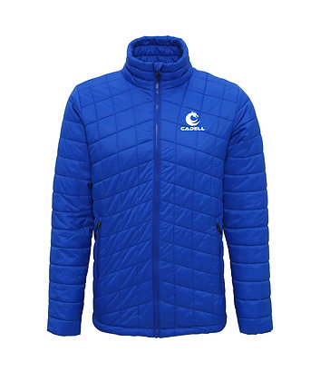 Mens Thermo Padded Jacket (Blue)