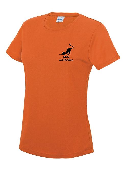 Run Catshill T shirts Ladies