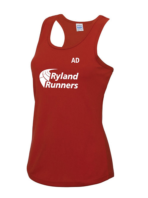 Ryland Runners Vest Ladies