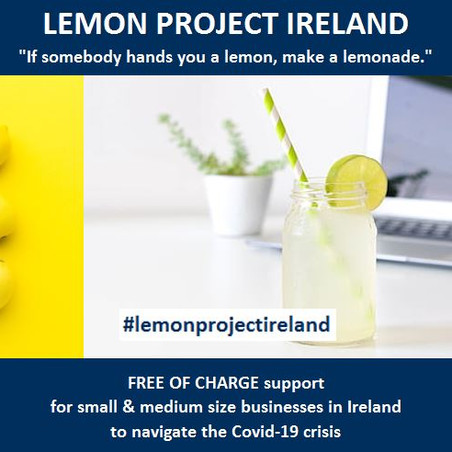 LEMON PROJECT IRELAND - FREE OF CHARGE support for businesses in Ireland.