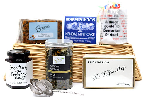 cumbrian collection gift hamper (any tea of your choice)