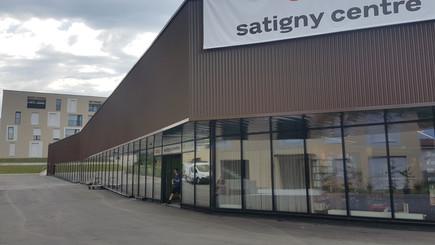 Satigny Centre - Parking gratuit pendant 1h !