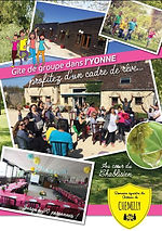 Brochure gîte de groupe, Yonne, Château de Chemilly