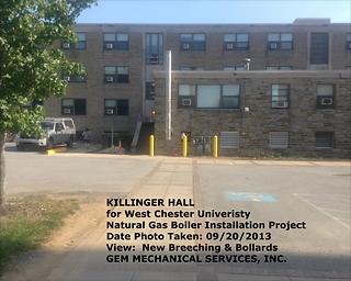 Killinger Hall – Natural Gas Boiler Installation