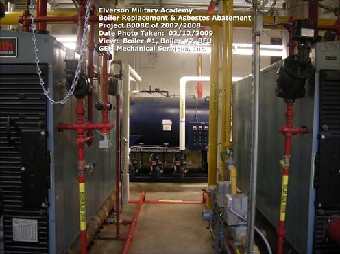 Elverson Military Academy - Boiler Replacement & Asbestos Abatement