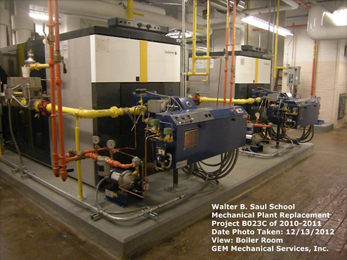 Saul High School – Mechanical Plant Replacement