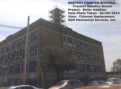 Franklin Smedley School – Renovations of Existing HVAC‐Boiler Plant Addition
