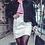 Thumbnail: White Vegan Leather Skirt