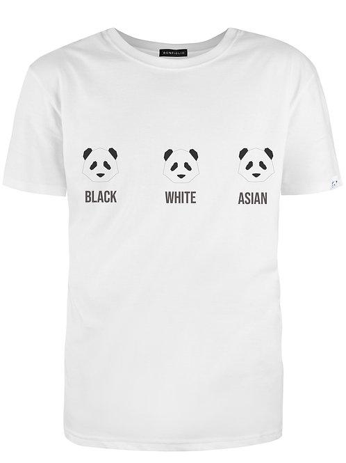 Black White Asian - Woman