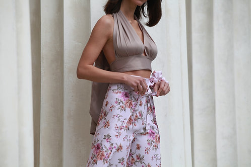 Wrap Top Taupe