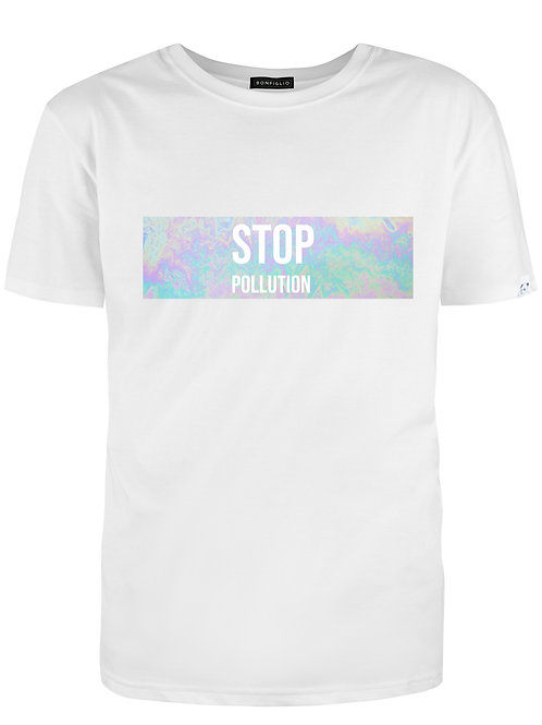 Stop Pollution - Woman