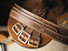 Eastwood Rail belts in natural chromexcel