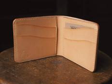 Natural veg tan Eastbound wallet