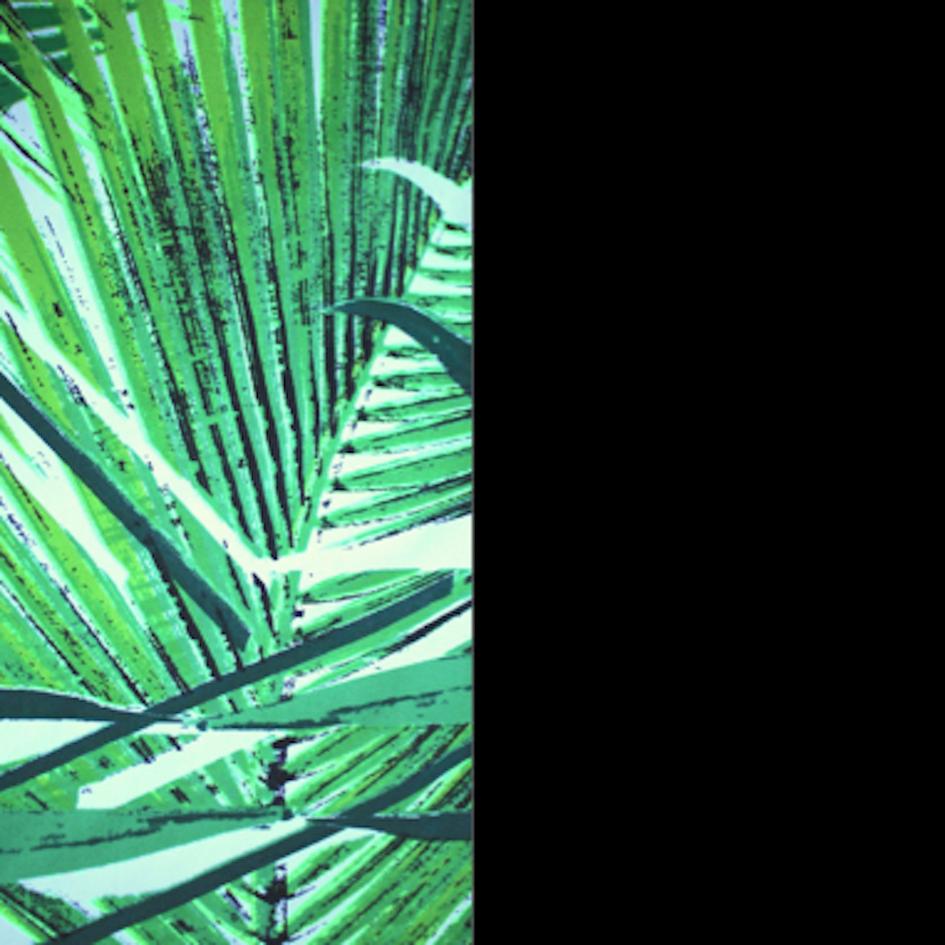 Jungle Palm/Blacksand