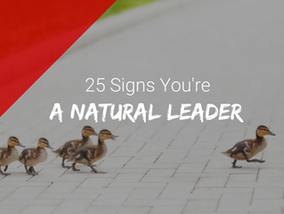 25 Signs You're A Natural Leader