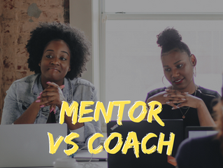 What's the Difference Between Mentoring and Coaching, Anyway?