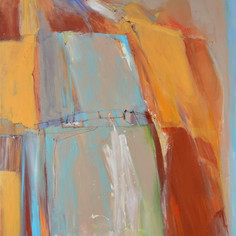 A Turquoise Trail    SOLD
