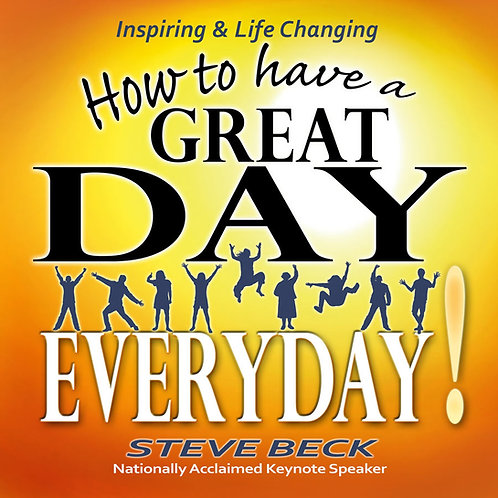 How To Have A Great Day Every Day - Book