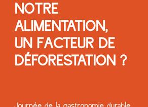 Notre alimentation, facteur de déforestation?