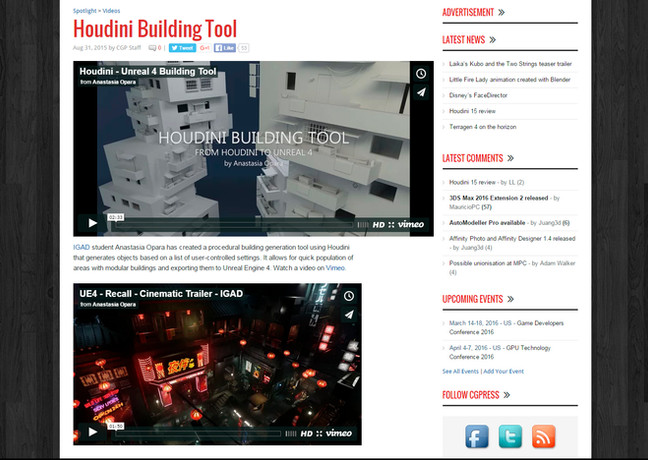 Modular Building tool shared by CGPress
