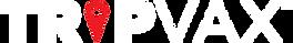 TRIPVAX logo 2.0 white w red pin 800.png