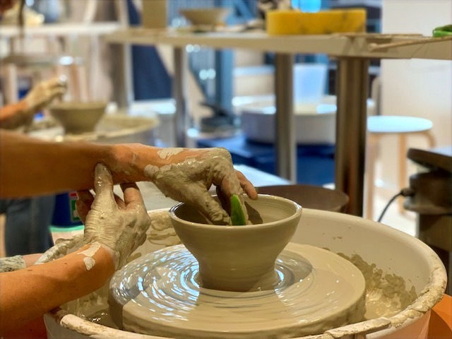 Private pottery session for two - 1 hour