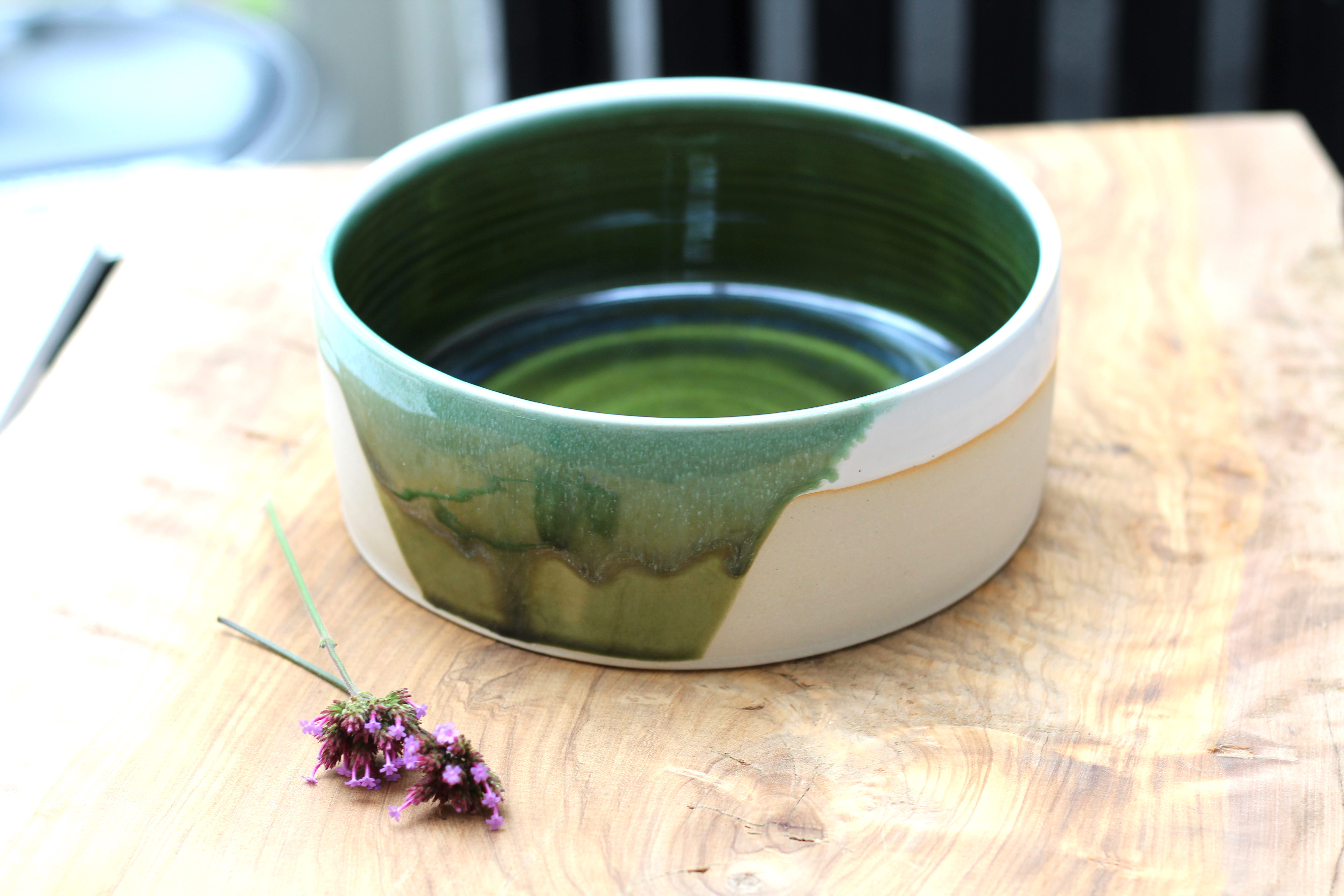 Stoneware plate - SOLD