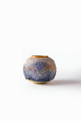 Landscape Moon Jar