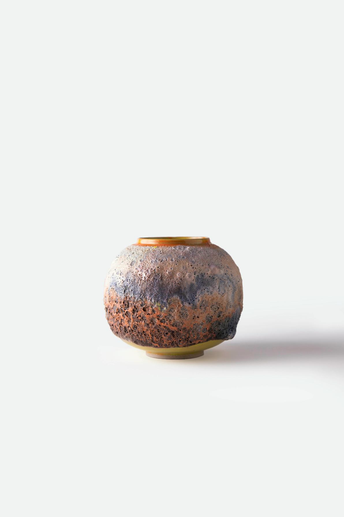 Landscape Moon Jar