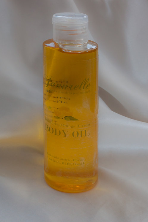 Revitalising Orange Blossom body oil