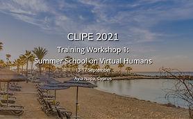 Training Workshop 1: Summer School on Virtual Humans