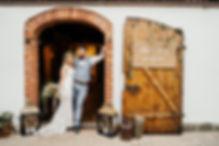 ślub rustykalnie