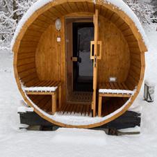 Wejście do sauny suchej