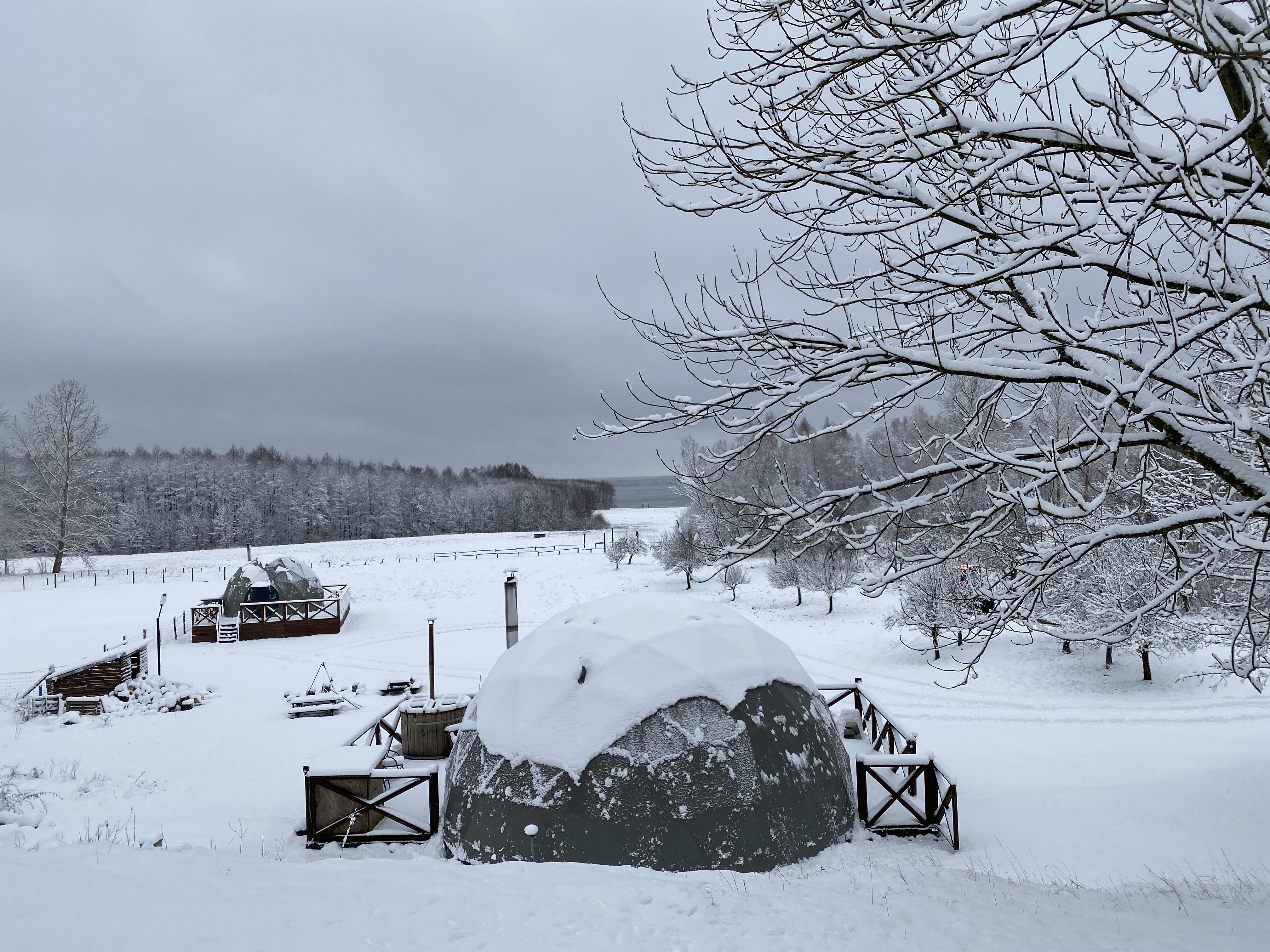 Zima zawitała do nas