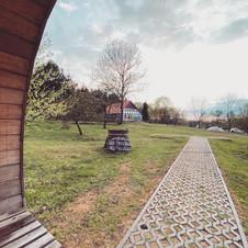 widok z sauny