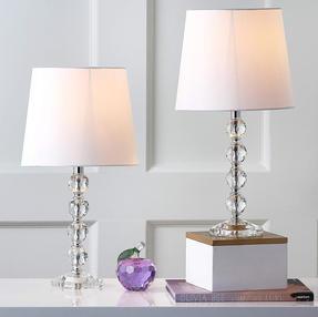 Lamp set crystal ball