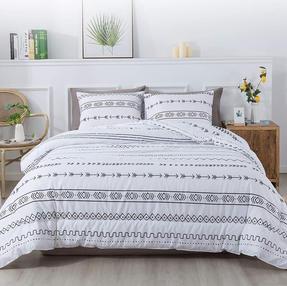 Geometric Boho Comforter