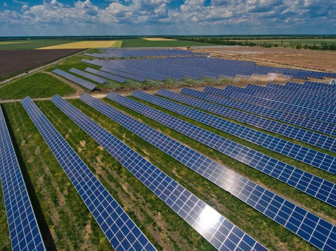 DTEK LAUNCHES FIRST SOLAR POWER PLANT