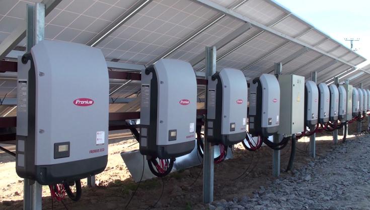 PV installation with Fronius inverters in Kalynivka, Vinnitsa region of Ukraine.