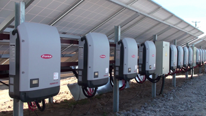 PV installation with Fronius inverters in Kalynivka, Vinnitsa region of Ukraine.