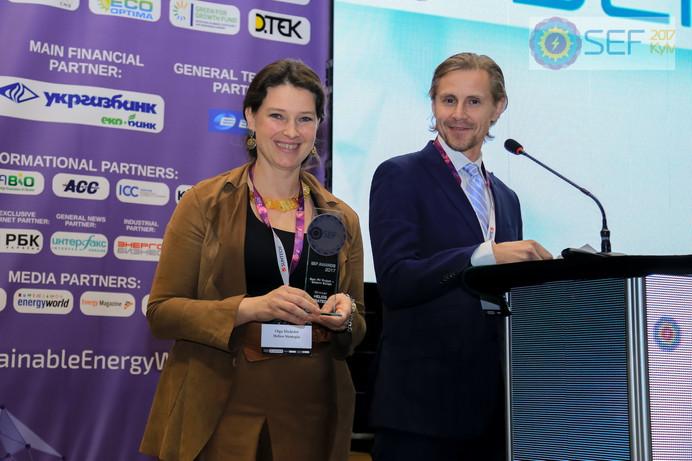 Winners of SEF AWARDS 2017